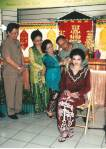 Peresmian Seminar Tata Rias  dan Busana Pengantin Dayak Kalteng th 1996, sebagai sejarah Peranan Perempuan.  .